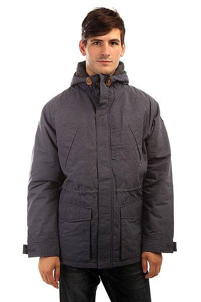 Куртка зимняя Quiksilver Sealakes Jckt Nightshadow BlueОсень уже не за горами, поэтому стоит подумать о том, чем Вы будете себя утеплять, когда погода будет менее комфортной. И Quiksilver Sealakes - отличный вариант! Теплый и комфортный фланелевый подклад, стеганый дизайн, обилие карманов - эта куртка станет Вашим вторым домом, который будет держать Вас в тепле и уюте даже тогда, когда на улице все совсем грустно. Характеристики:Эффект воскового покрытия.Матовая фланелевая подкладка. Стеганый дизайн. Рукава реглан. 3 кармана на груди. 2 накладных кармана с клапанами. Капюшон со шнурком-утяжкой.Кожаная нашивка с логотипом на рукаве. Водоотталкивающая пропитка.<br><br>Цвет: синий<br>Тип: Куртка зимняя<br>Возраст: Взрослый<br>Пол: Мужской