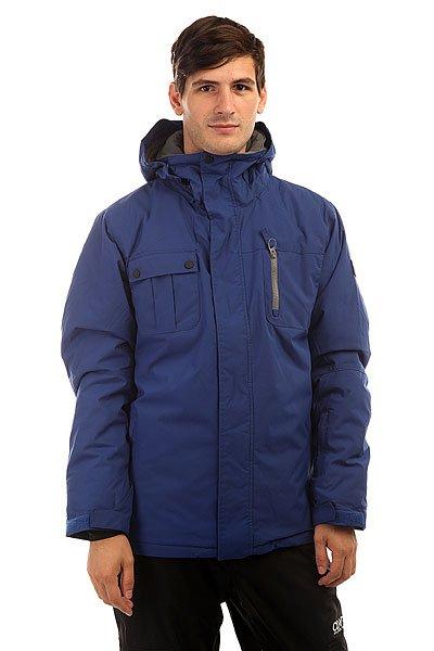 Куртка Quiksilver Mission Solid Sodalite BlueСтильная куртка с лаконичным дизайном в стиле колорблок позволит оставаться в тепле и сухости на протяжении всего дня катания благодаря верхнему влагостойкому слою Dry Flight 10K и утеплителю Polyfill. Удобный карман для скипасса на рукаве, внутренний карман для очков, высокий ворот с мягкой подкладкой и карабин для ключей - в этой куртке Вы найдете все самое необходимое для комфортного катания, а стильный дизайн с правильным сочетанием цветов составит отличную базу для Вашего снежного лука.Характеристики:Влагостойкая ткань Dry Flight 10K.Утеплитель: Polyfill 120 г (тело) / 100 г (рукава и капюшон). Подкладка: тафта. Прямой крой.Проклеенные в стратегических местахшвы. Сетчатые карманы для вентиляции.Съемная снегозащитная юбка. Регулируемый капюшон. Система прикрепления куртки к штанам. Подкладка из микрофибры в зоне подбородка для защиты от натирания.Вышитый логотип Quiksilver на груди. Внутренние манжеты из лайкры.Регулируемые манжеты на липучке. Карман на молнии на рукаве для ски-пасса.Вертикальный нагрудный карман на молнии. Карабин для ключей.Утягивающийся подол. Небольшой логотип на груди. Логотип на спине около подола. Два кармана для рук на молнии. Внутренний сетчатый карман.Коллекция Snow Everyday.<br><br>Цвет: синий<br>Тип: Куртка утепленная<br>Возраст: Взрослый<br>Пол: Мужской