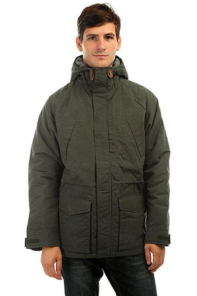 Куртка зимняя Quiksilver Sealakes Jckt BelugaОсень уже не за горами, поэтому стоит подумать о том, чем Вы будете себя утеплять, когда погода будет менее комфортной. И Quiksilver Sealakes - отличный вариант! Теплый и комфортный фланелевый подклад, стеганый дизайн, обилие карманов - эта куртка станет Вашим вторым домом, который будет держать Вас в тепле и уюте даже тогда, когда на улице все совсем грустно. Характеристики:Эффект воскового покрытия.Матовая фланелевая подкладка. Стеганый дизайн. Рукава реглан. 3 кармана на груди. 2 накладных кармана с клапанами. Капюшон со шнурком-утяжкой.Кожаная нашивка с логотипом на рукаве. Водоотталкивающая пропитка.<br><br>Цвет: зеленый<br>Тип: Куртка зимняя<br>Возраст: Взрослый<br>Пол: Мужской