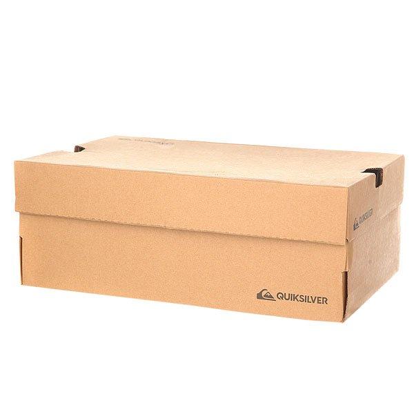 Кеды кроссовки низкие Quiksilver Circuit Shoe Grey/Grey/White