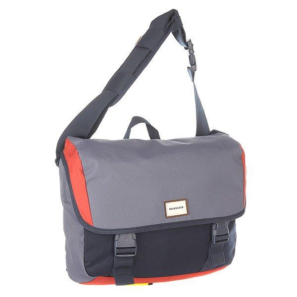 Рюкзак школьный Quiksilver Carrier Barn RedСтильная заплечная сумка Carrier от Quiksilver.Характеристики:Небольшая заплечная сумка. Основное отделение на молнии и с клапаном. Регулируемая заплечная лямка. Передний компрессионный стреп. Внутренний органайзер. Внешний карман для мелочи на молнии. Вшитое отделение для ноутбука или планшета. Ярлык Quiksilver.<br><br>Цвет: синий<br>Тип: Рюкзак школьный<br>Возраст: Взрослый