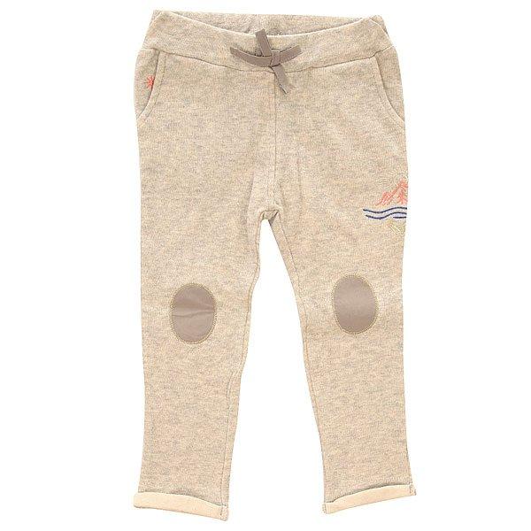 Штаны прямые детские Roxy Swing Heritage Heather<br><br>Цвет: серый<br>Тип: Штаны прямые<br>Возраст: Детский