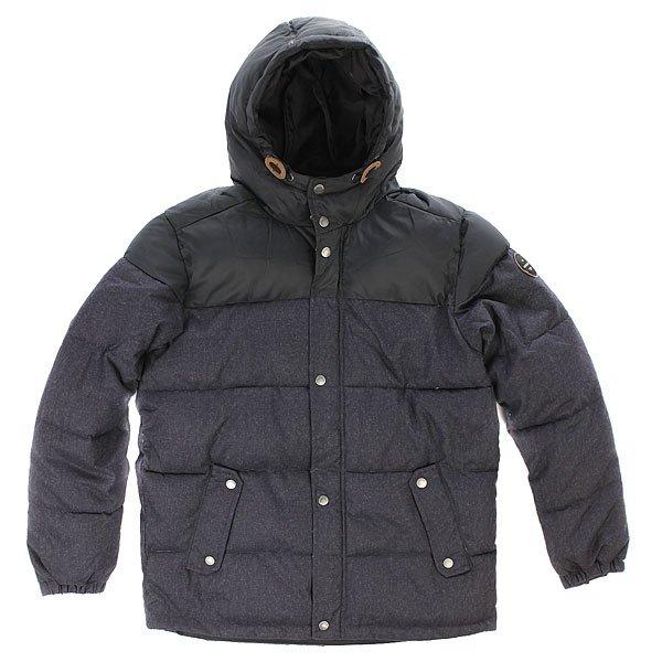 Куртка зимняя детская Quiksilver Woolmore Dark Heather An GreyДетская куртка Quiksilver из зимней коллекции одежды.Характеристики:Стандартный крой. Контрастная подкладка.Фиксированный капюшон с регулировкой. Боковые карманы для рук.<br><br>Цвет: черный<br>Тип: Куртка зимняя<br>Возраст: Детский