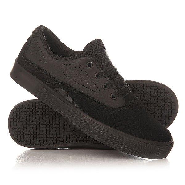 Кеды кроссовки низкие детские DC Sultan Black