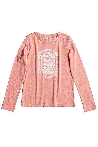 Лонгслив детский Roxy Rg Tonic Stamp Peach Amber<br><br>Цвет: розовый<br>Тип: Лонгслив<br>Возраст: Детский