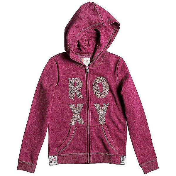 Толстовка классическая детская Roxy Sea G Otlr Red Plum<br><br>Цвет: фиолетовый<br>Тип: Толстовка классическая<br>Возраст: Детский