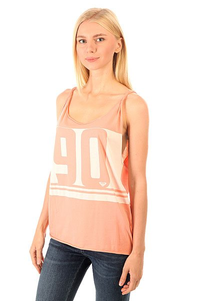 Майка женская Roxy Sirens Peach Amber<br><br>Цвет: розовый<br>Тип: Майка<br>Возраст: Взрослый<br>Пол: Женский