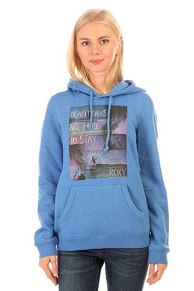 Толстовка кенгуру женская Roxy Hoodie Ru Palace BlueТолстовка Roxy Hoodie – новинка из коллекции одежды Roxy.Характеристики:Синтетика с начесом. Универсальная всесезонная ткань средней плотности (280 г/м?).Трафаретный принт спереди. Логотип Roxy на боковом шве.<br><br>Цвет: синий<br>Тип: Толстовка кенгуру<br>Возраст: Взрослый<br>Пол: Женский