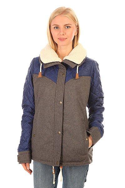 Куртка зимняя женская Roxy Loran Jk Charcoal Heather тени для век avant scène тени микропигментированные палитра перламутровая a001 цвет a001 variant hex name 226091