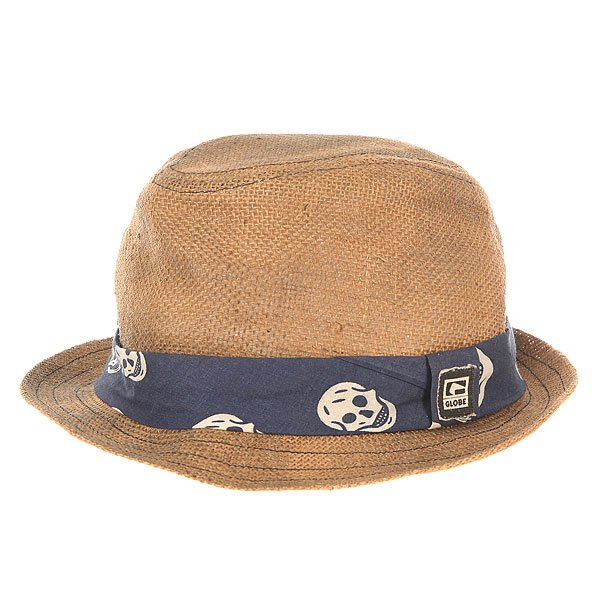 Шляпа Globe Clarendon Fedora Natural