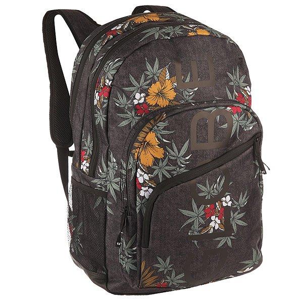 Рюкзак туристический Globe Jagger Backpack Black Hibiscus