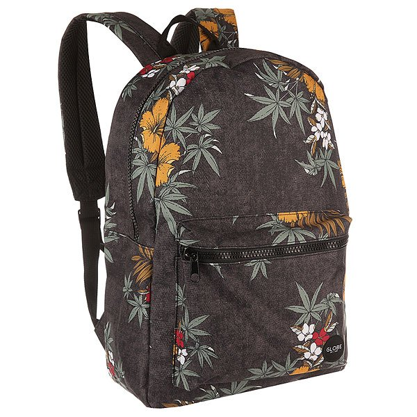 Рюкзак городской Globe Dux Deluxe Backpack Black Hibiscus