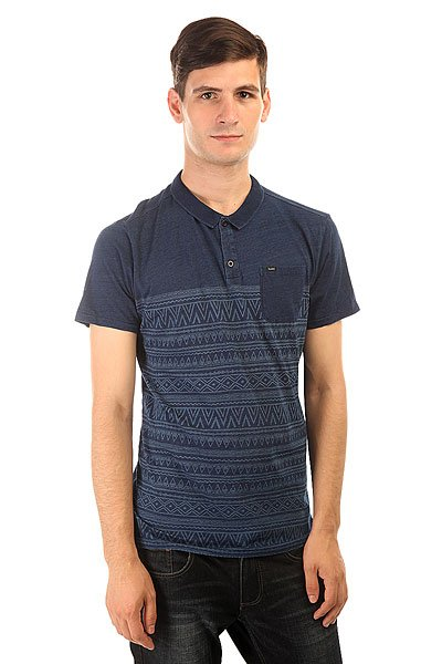 Поло Globe Moonshine Polo Tribal/Indigo