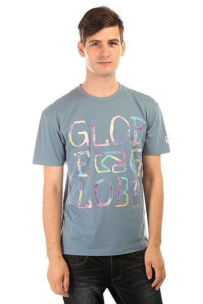 Футболка Globe Brussles Tee Light navy<br><br>Цвет: голубой<br>Тип: Футболка<br>Возраст: Взрослый<br>Пол: Мужской