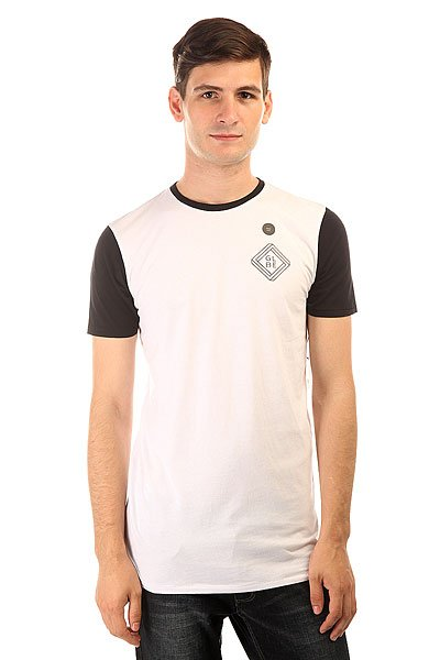 Футболка Globe Block Tall Tee White футболка globe tropical tee indigo