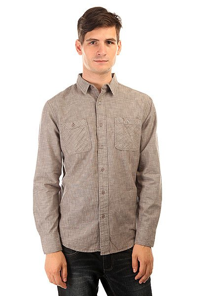Рубашка Globe Goodstock Shirt Grey