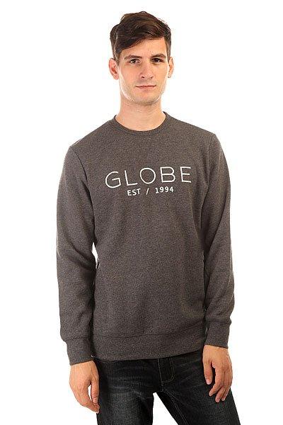 Толстовка свитшот Globe Mod Crew Ii Black Marle<br><br>Цвет: серый<br>Тип: Толстовка свитшот<br>Возраст: Взрослый<br>Пол: Мужской