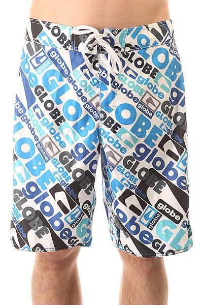 Шорты пляжные Globe Matrix Boardie Blue шорты женские oakley flip top boardie pool blue