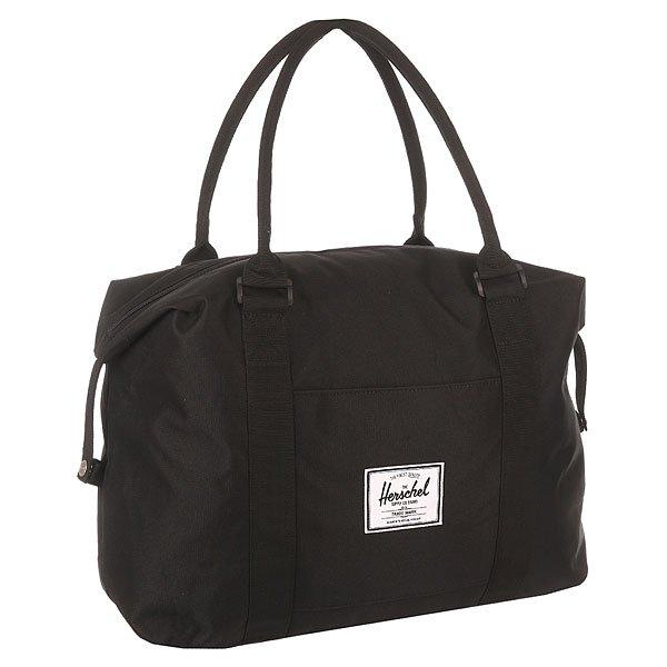 Сумка Herschel Strand BlackВместительная и практичная сумка для города от канадского производителя модных аксессуаров - Herschel Supply Co. Отличный вариант для документов, планшета и других личных вещей. Комфортные размеры сумки и оригинальный дизайн делают эту сумку не только модной, но и универсальной!Прекрасный вариант сумки для повседневных вещей на каждый день! Отлично подойдет для самых разных целей, удобна и проста в использовании! Такая модель отлично подойдет для похода в магазин или на пикник. Вместительное основное отделение позволит без труда взять все необходимое.Характеристики:Изготовлена из высококачественной хлопково-полимерной (полиэстер) ткани с фирменным логотипом компании. Подкладка из нейлона в фирменную красно-белую полоску. Вместительное основное отделение без перегородок. На передней поверхности есть дополнительный карман для личных вещей.Основное отделение закрывается на надежную молнию с металлическими замками.Удобные текстильные ручки для переноса. Края сумки могут иметь два положения, что позволяет немного менять форму. Износостойкий и водоотталкивающий наружный материал. Фирменная фурнитура с тиснением Herschel, бегунки на молнии из кожи.<br><br>Цвет: черный<br>Тип: Сумка<br>Возраст: Взрослый<br>Пол: Мужской