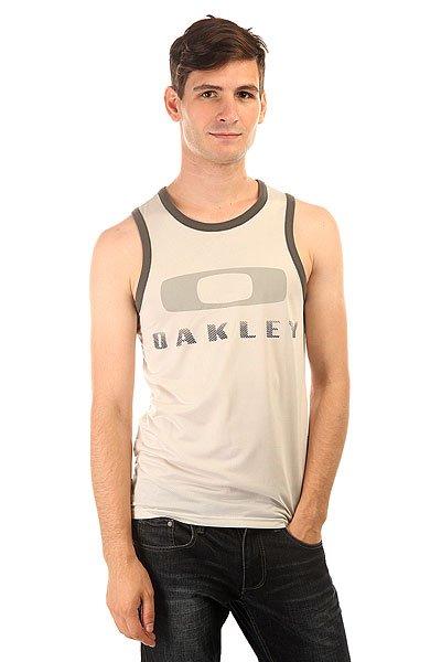 Майка Oakley O Tank Crystal Gray<br><br>Цвет: серый<br>Тип: Майка<br>Возраст: Взрослый<br>Пол: Мужской
