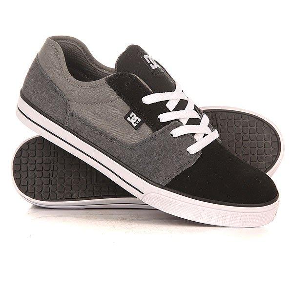 Кеды кроссовки низкие детские DC Tonik Youth B Grey/Black