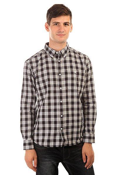 Рубашка в клетку DC Atura 3 Atura Black рубашка в клетку dc runnels runnels winetasting