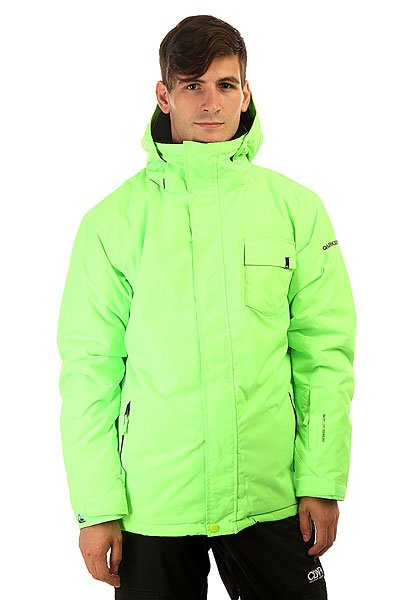 Куртка утепленная Quiksilver Mission Plain Green Gecko