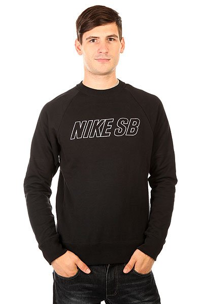 ��������� ������������ Nike SB Everett Reveal Crewneck Black