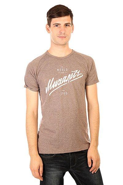 Футболка Запорожец Михалыч Кофейный МеланжМужская футболка из приятного хлопка от российского бренда Запорожец.Технические характеристики: Комфортный хлопок.Воротник с круглым вырезом.Короткие рукава-реглан.Традиционный принт Михалыч на груди.<br><br>Цвет: коричневый<br>Тип: Футболка<br>Возраст: Взрослый<br>Пол: Мужской