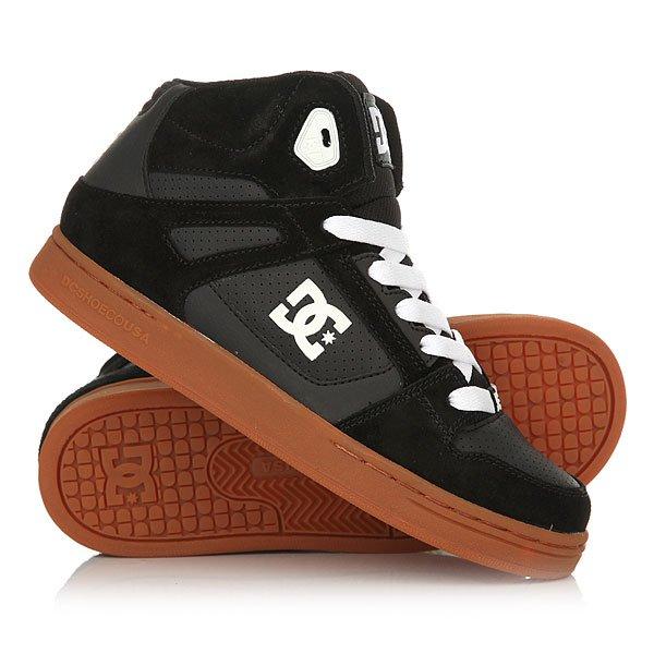���� ��������� ������� ������� DC Rebound Yth Black/Gum