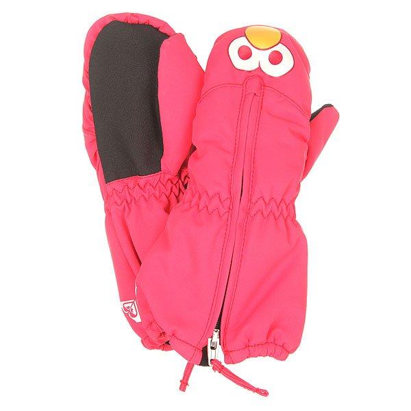 Варежки сноубордические детские Roxy Snows Up Mitt Paradise Pink