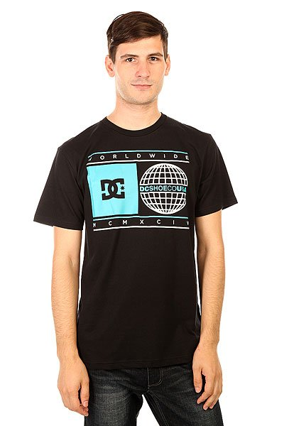 Футболка DC Oracular Black<br><br>Цвет: черный<br>Тип: Футболка<br>Возраст: Взрослый<br>Пол: Мужской