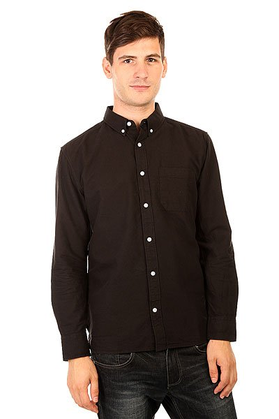 Рубашка DC Oxford Ls 3 Black