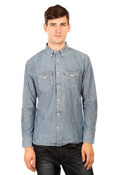Рубашка DC Arrowood Indigo Chambray