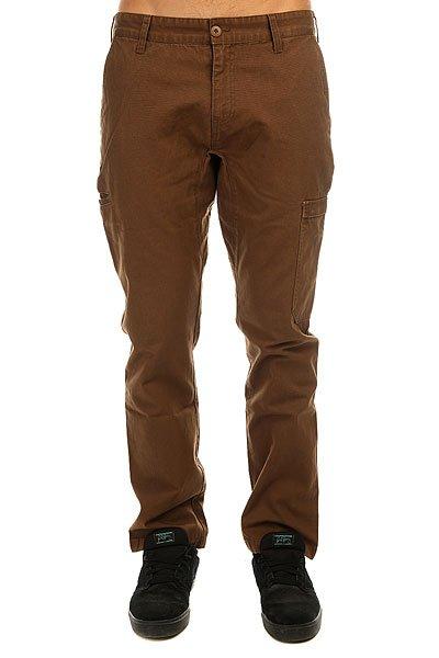 Штаны прямые DC Spt Pant Dark Earth<br><br>Цвет: коричневый<br>Тип: Штаны прямые<br>Возраст: Взрослый<br>Пол: Мужской