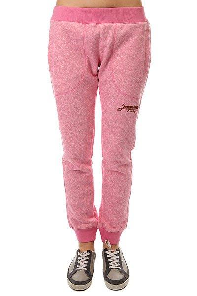 Штаны спортивные женские Запорожец Лого Спортивные Розовый