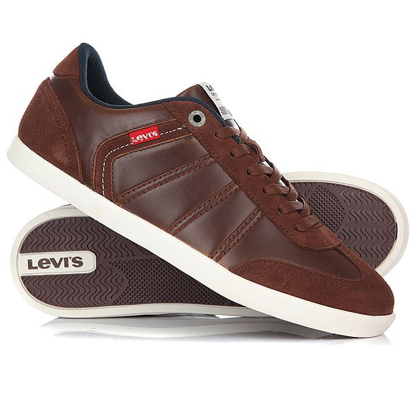 Кеды низкие Levis Loch Dark Brown