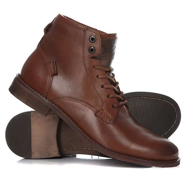 Ботинки высокие Levis Baldwin Derby Lace Medium Brown