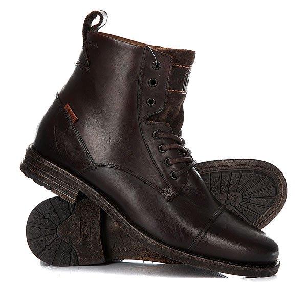 Ботинки высокие Levis Emerson Lace Up Brown