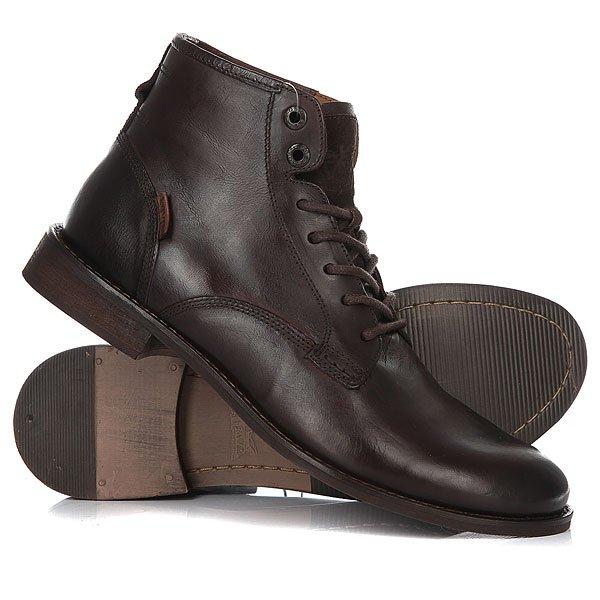 Ботинки высокие Levis Baldwin Derby Lace Dark Brown
