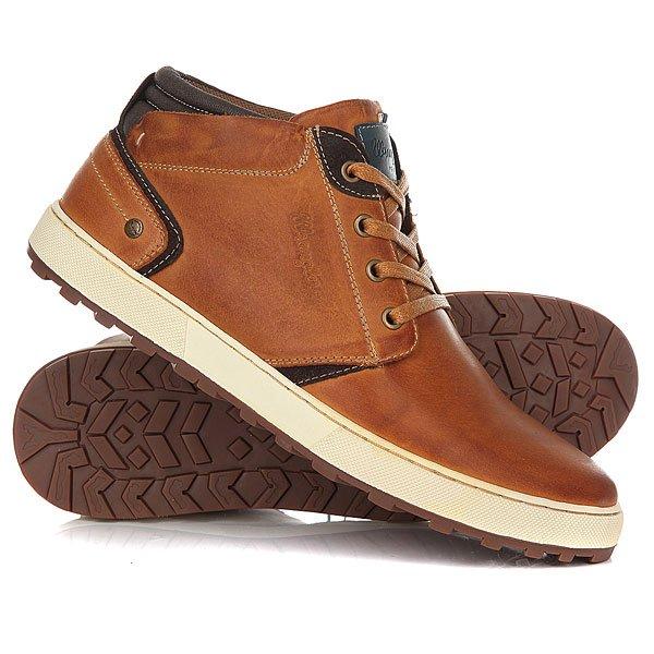 Ботинки высокие Wrangler Bruce Desert Cognac