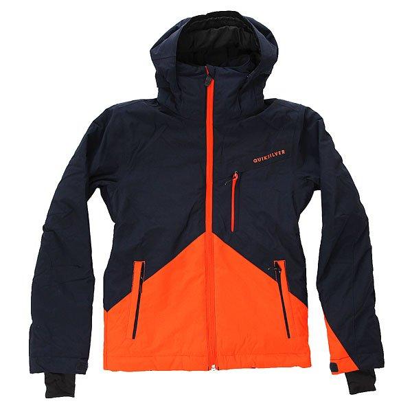 Куртка детская Quiksilver Little Mission Sesame Street OscarЯркая куртка Quiksilver Little Mission с заботой и любовью создана для самых маленьких райдеров. Несмотря на маленький размер, укомплектована тем же набором характеристик, что и куртки для взрослых спортсменов: качественный утеплитель Warmflight® в достаточном количестве для надежного сохранения тепла Вашего ребенка в любых условиях, влагостойкая ткань Dry Flight 10K, подкладка из тафты, проклеенные критические швы, снегозащитная юбка, регулируемый съемный капюшон, совместимый со шлемом, возможность присоединения варежек к манжетам и система рукавов на вырост, благодаря которой куртка будет радовать не один сезон.Характеристики:Куртка для детей 2-7 лет. Влагостойкая ткань Dry Flight 10K (10 000 мм / 10 000 г). Утеплитель Warmflight®: 200 г тело / 120 г рукава / 80 г капюшон. Подкладка из тафты и трикотажа с начёсом. Стандартный крой. Проклеенные критические швы. Снегозащитная юбка. Система присоединения варежек к манжетам. Регулируемый съемный капюшон, совместимый со шлемом. Боковые карманы на молнии. Карман для ски-пасса на молнии на рукаве. Регулируемые внешние манжеты на липучке. Система рукавов на вырост.<br><br>Цвет: мультиколор<br>Тип: Куртка утепленная<br>Возраст: Детский
