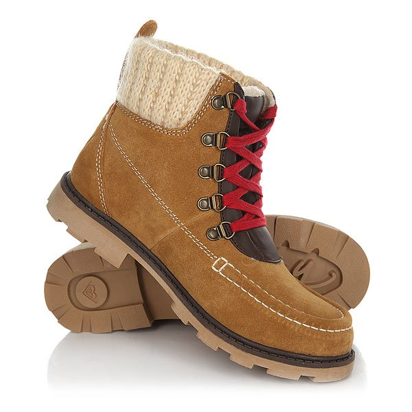 Ботинки зимние женские Roxy Creston TanДизайн ботинок основательно продуман. Все составляющие аккуратно совмещены и удачно дополняют друг друга. Выбранный товар будет приятной находкой для себя или презентом родным. Выбранные ботинки Roxy (Рокси) легко подойдут под ваш любимый стиль одежды и покажут вас в хорошем свете и в ресторане и в парке.Характеристики:Замшевый верх с набивным голенищем и языком. Яркая цветная шнуровка с металлическими D-образными петлями. Подкладка из синтетического меха. Логотип на пятке. Эластичная подошва из ТПУ.<br><br>Цвет: коричневый<br>Тип: Ботинки зимние<br>Возраст: Взрослый<br>Пол: Женский