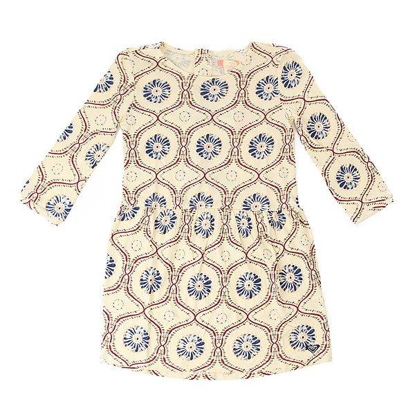 Платье детское Roxy Season Tippie Magic AngoraПлатье детское Season Relief. Платье детское 8-16 лет.Характеристики:Расклешенный фасон с оборками по подолу. С длинным рукавом. Спина на пуговицах. Сплошной принт.<br><br>Цвет: бежевый<br>Тип: Платье<br>Возраст: Детский
