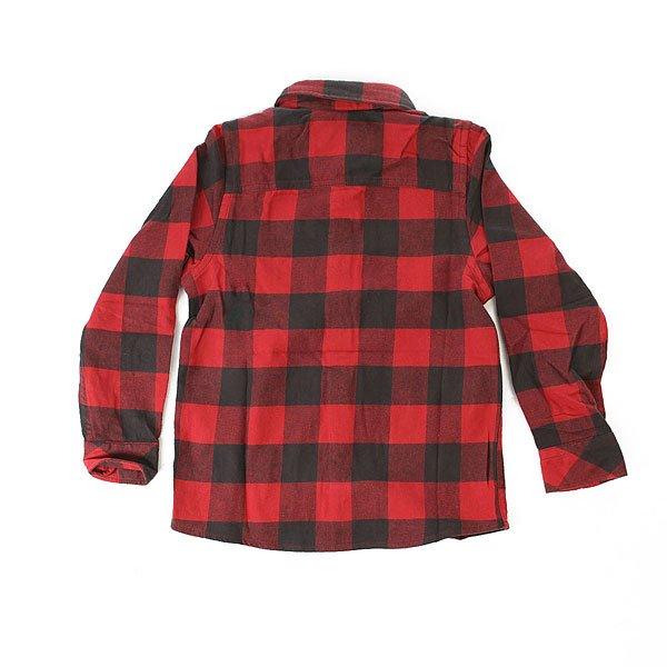 Рубашка в клетку детская Quiksilver Motherflyboy Garnet от Proskater