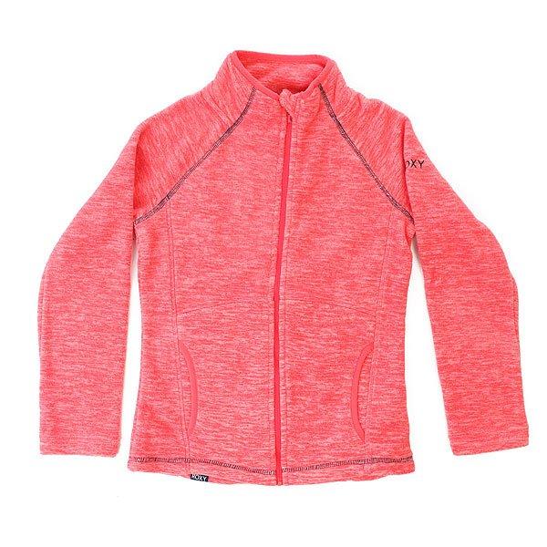 Толстовка классическая детская Roxy Harmony Paradise Pink<br><br>Цвет: розовый<br>Тип: Толстовка классическая<br>Возраст: Детский