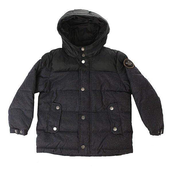 Фото Куртка зимняя детская Quiksilver Woolmore Dark Heather Grey. Купить с доставкой