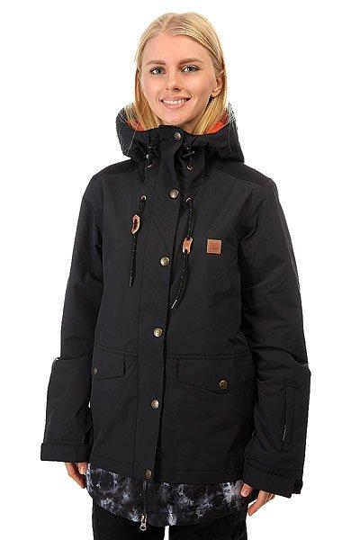Куртка женская DC Riji BlackДобавить непринужденности и стиля своему снежному луку легко и просто - стоит только надеть куртку DC Riji. Крой Relaxed Fit с эргономичной формой рукавов даст волю движениям, а влагостойкая ткань Exotex 10K в сочетании с утеплителем защитит от ветра, снега и непогоды. Удобные внешние карманы для рук и внутренние карманы для плеера и очков позволят взять на склон все самое необходимое. Характеристики:Влагостойкая мембранная тканьExotex 10K. Утеплитель 80 г туловище, 40 г рукава. Подкладка: тафта.Свободный крой. Козырек на капюшоне. Проклеенные в стратегических местах швы. Сетчатые вентиляционные карманы на молнии подмышками. Регулировка капюшона в 3 направлениях. Снегозащитная юбка. Манжеты из лайкры. Эргономичный крой рукавов. Регулировка манжет на липучке. Карман для ски-пасса на молнии на рукаве.Передние карманы на молнии и клапане. Внутренний медиа-карман на молнии.Внутренний сетчатый карман. КоллекцияFoundation.<br><br>Цвет: черный<br>Тип: Куртка утепленная<br>Возраст: Взрослый<br>Пол: Женский
