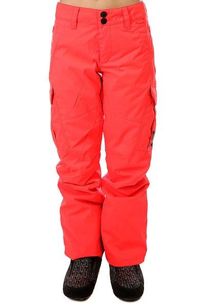 Штаны сноубордические женские DC Ace Fiery CoralСноубордические штаны прямого кроя с водонепроницаемой мембраной Exotex 10/10, утеплителем40г и подкладкой из тафты. По бокам штанин расположены удобные глубокие карманы с клапанами, в которых находится система утяжки, а с внутренней стороны бедра - система вентиляции. Штаны представлены в нескольких интересных расцветках, чтобы Вы могли выбрать цвет, лучше всего подходящий к остальной Вашей экипировке.Характеристики:Прямой крой. Петли для ремня.Водонепроницаемая мембрана Exotex 10 000 мм / 10 000 г. Утеплитель 40г.Подкладка из тафты. Проклеенные основные швы. Сетчатые карманы с внутренней стороны бедра для вентиляции. Гейторы из тафты. Клиновидные вставки внизу штанин на молнии. Крепление для ски-пасса. Петля для крепления штанов к куртке.Эргономичный крой коленей. Карманы для рук на молнии. Боковые карманы на клапане с системой утяжки штанин. Задние карманы на липучках. Логотип DC на боку.<br><br>Цвет: розовый<br>Тип: Штаны сноубордические<br>Возраст: Взрослый<br>Пол: Женский