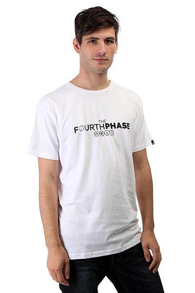 Футболка Quiksilver 4th Phase White<br><br>Цвет: белый<br>Тип: Футболка<br>Возраст: Взрослый<br>Пол: Мужской